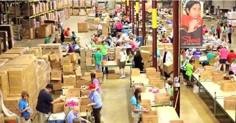 Global Aid Network packing event brings hope