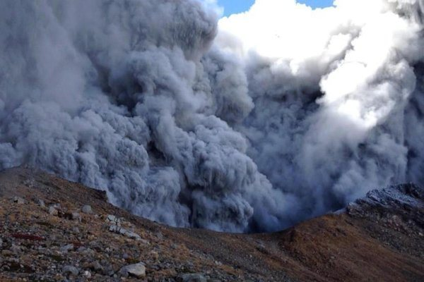 Tragedy on Mount Ontake