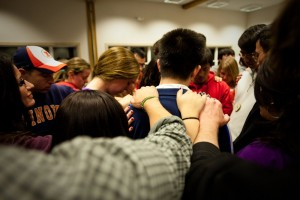 (Photo Courtesy InterVarsity Christian Fellowship) InterVarsity seeks to train students how to engage their peers with the message of Jesus and to become effective leaders beyond college.
