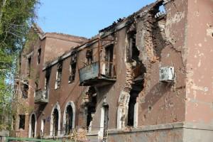 RMI Photo - War damage in Eastern Ukraine
