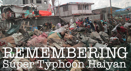 Typhoon Haiyan hit one year ago
