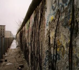 Berlin Wall circa 1990