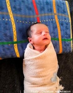Baby Farah (Photo courtesy CAM)