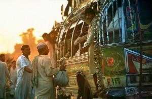 Pakistan party bus