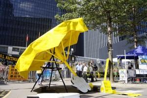 Hong Kong yellow umbrella protests
