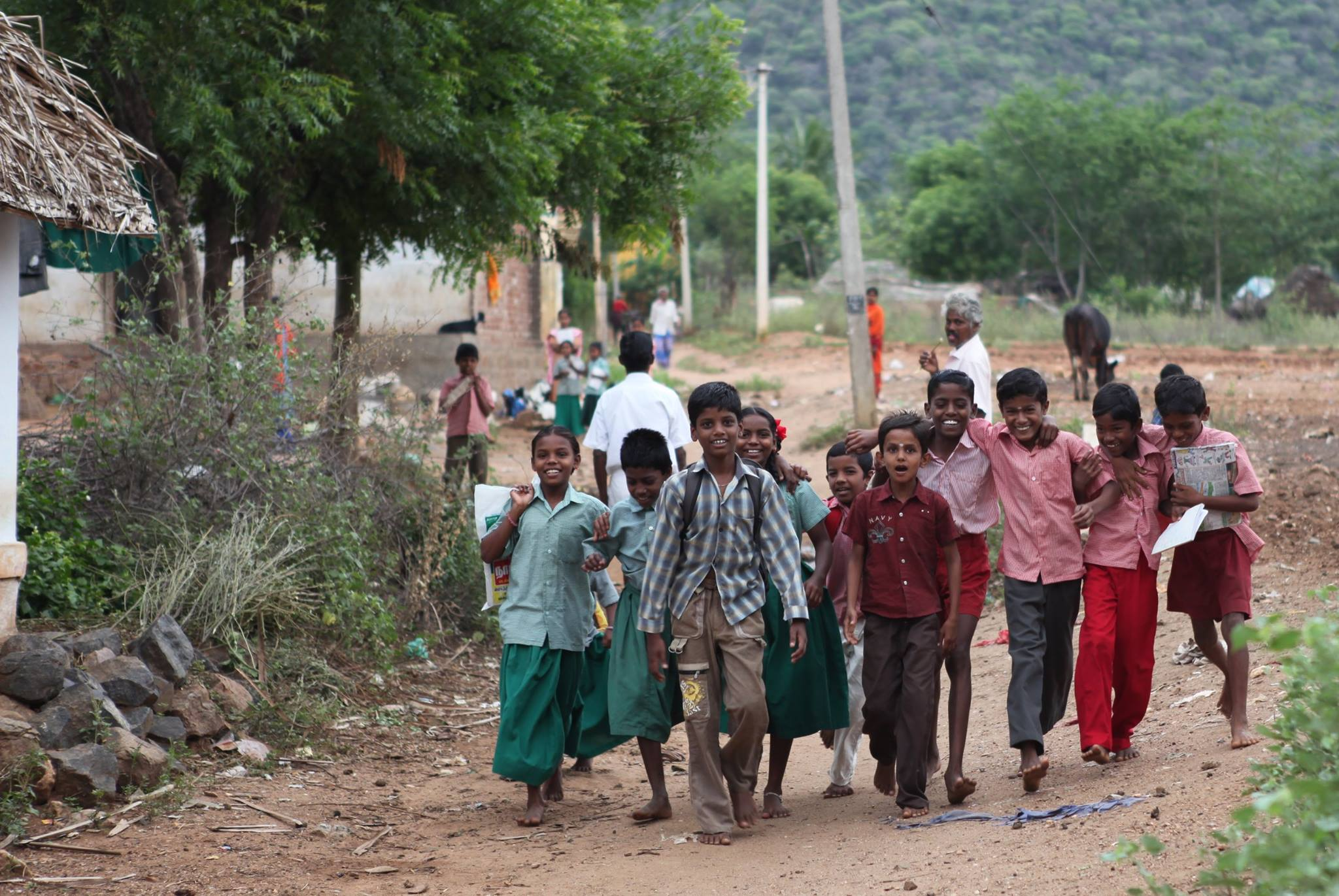 Joy for India: a matching campaign for children in India