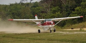 Cessna 206 for Brazil (photo by New Tribes Mission)