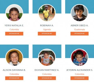 What does it mean to sponsor a child in need? (Screenshot from Orphansheart.org)