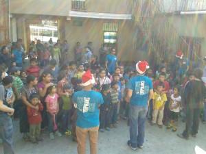 Orphan Outreach celebrates Christmas around the world. (photo courtesy of Orphan Outreach via Facebook)