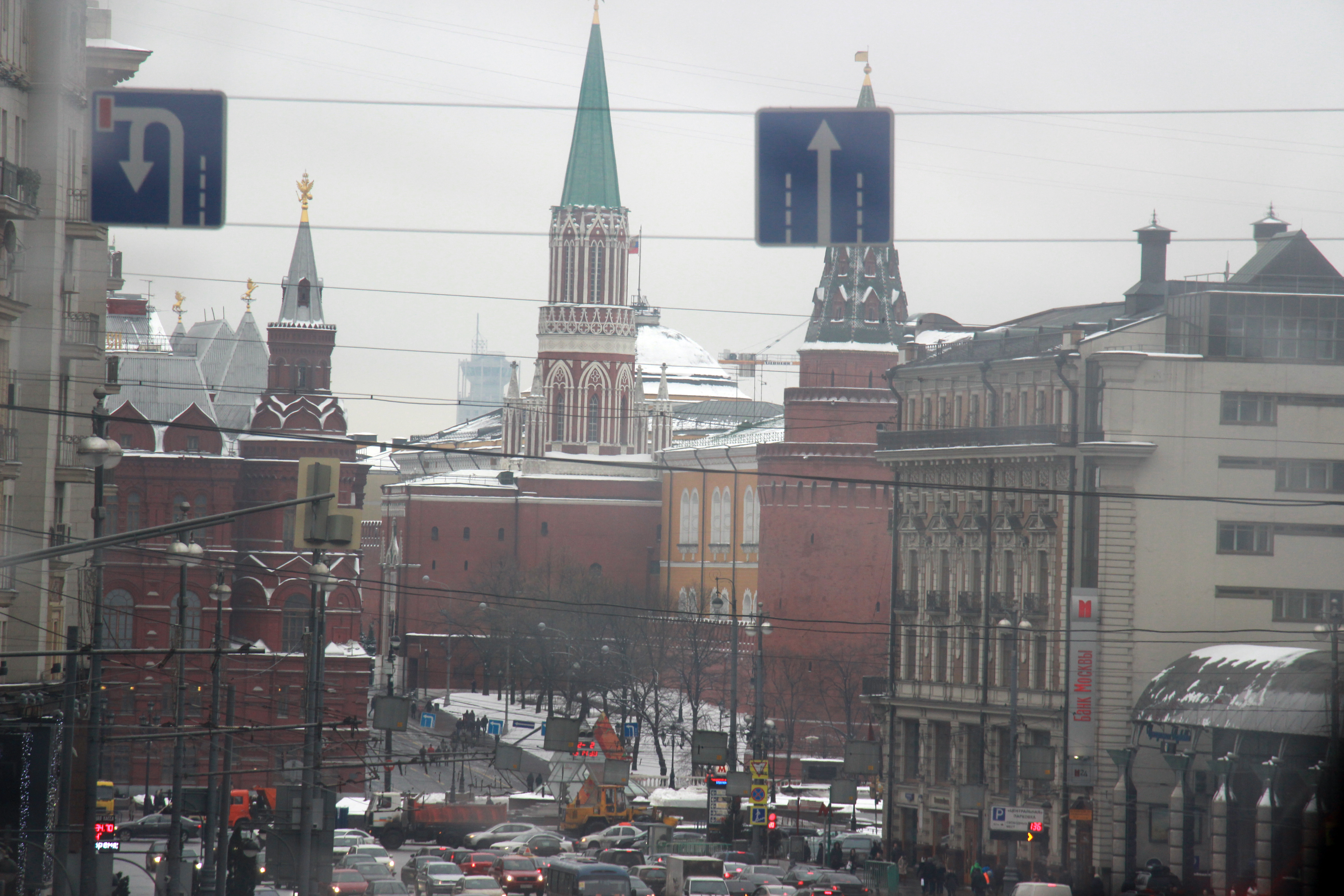 Russians panic, ministry moves forward