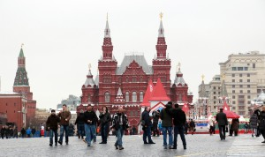 View from Red Square in Moscow (photo by Greg Yoder)