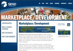 SEND International has established MDE, Marketplace Development Enterprises.
