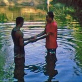 Late last year, village leaders interrupted a baptism (Photo courtesy of FMI)