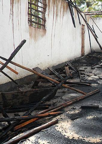 Authorities demolish church building