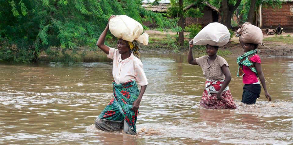 Worst flooding in history hits Malawi