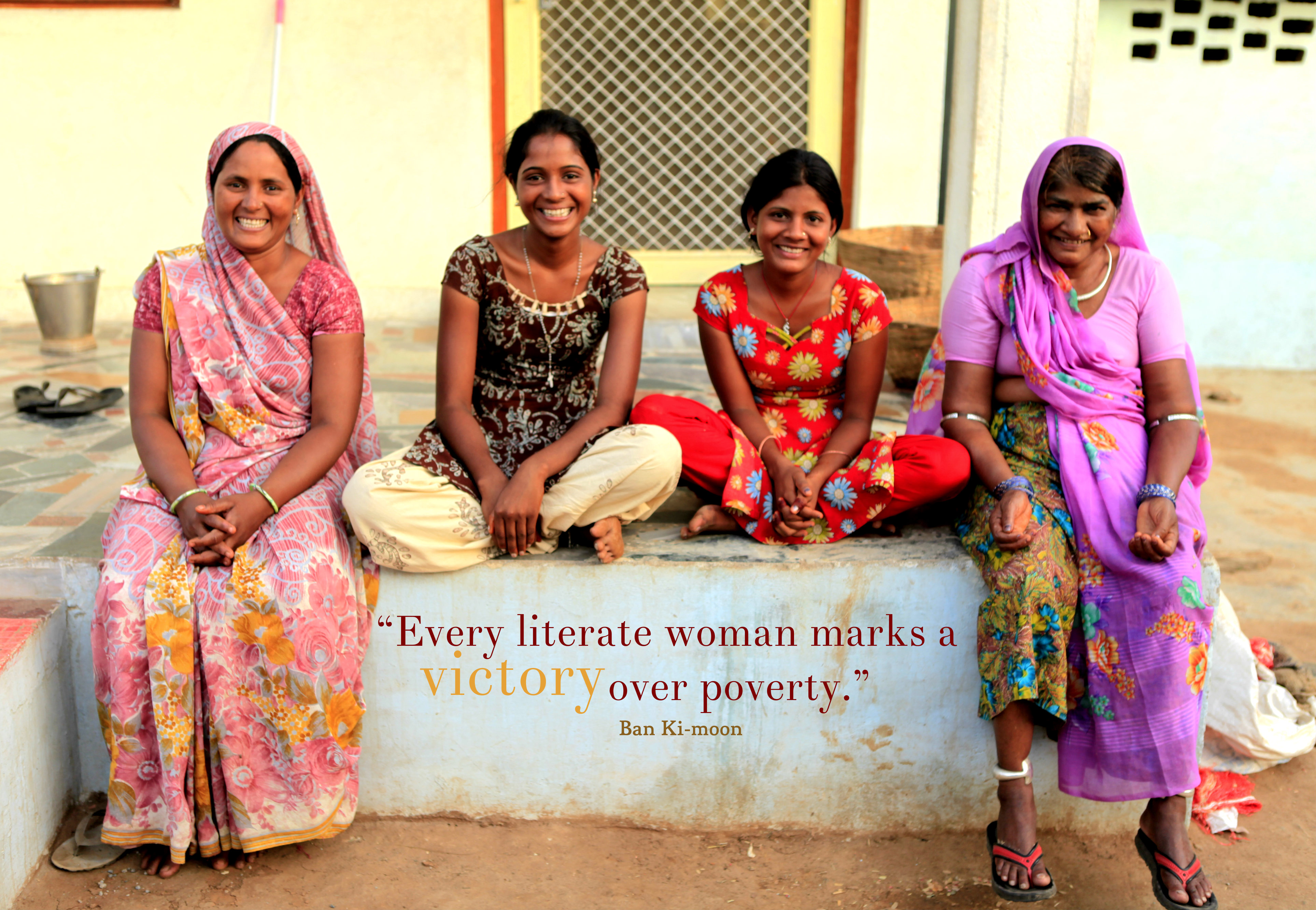 She Counts 2015: brings the Gospel to illiterate women