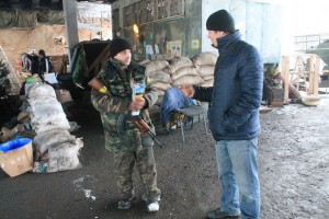 Mission Eurasia is providing Scripture, aid and counseling to soldiers and refugees in Ukraine (Mission Eurasia Photo)