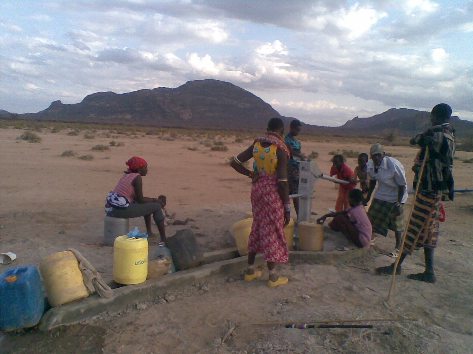 Northern Kenya thirsty for water