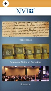 (Screen shot image courtesy Biblica LA, Google)