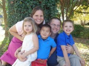 A Bethany family (Photo by Bethany Christian Services via Facebook)