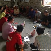 Residents of the island of Bali meet for worship. (Photo and caption courtesy of Christian Aid Mission)