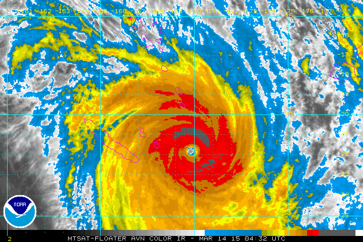 Vanuatu left in ruins after Cyclone Pam