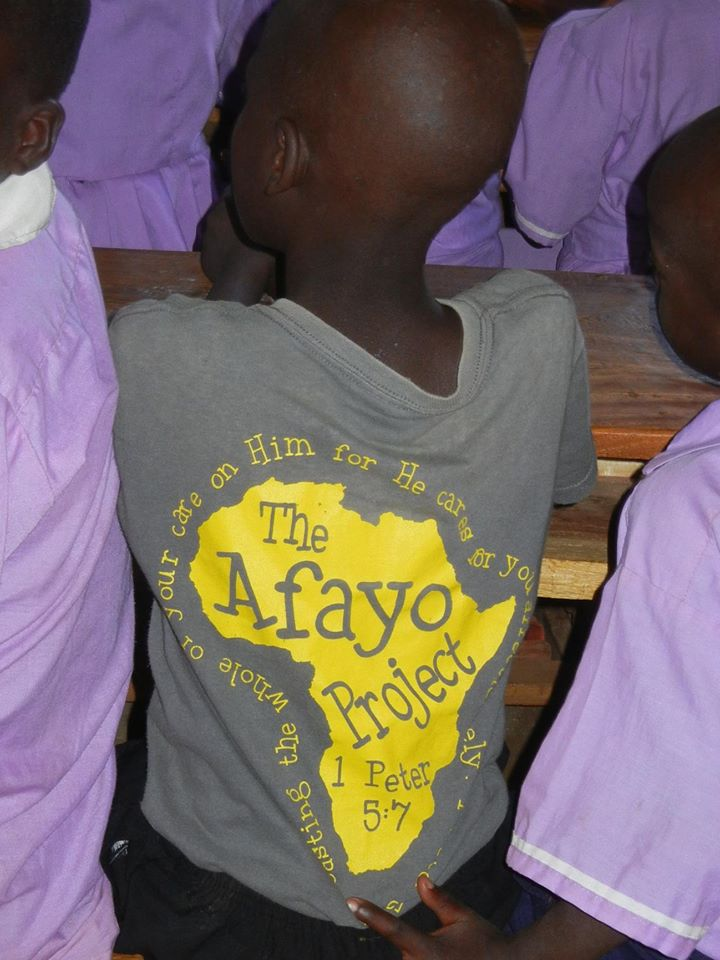Supplies destined for Afayo Project