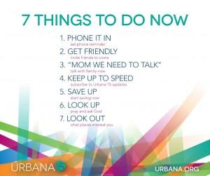 Urbana 15 tips