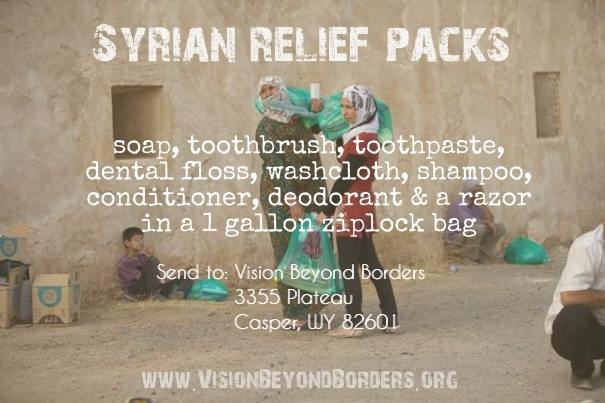 Tangible help for forgotten refugees