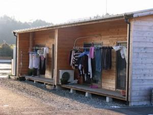 (Photo temporary housing courtesy Asian Access)