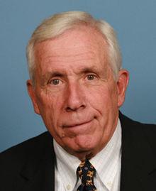 (Former Congressman Frank Wolf, courtesy Wikipedia)