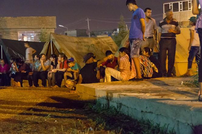 Iraqi refugees dare to hope