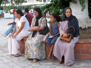 (Stock photo Tunisian women courtesy Open Doors USA)