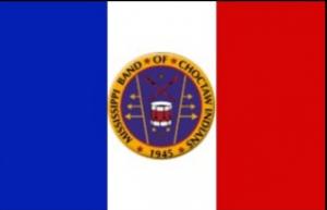 (Screen capture Choctaw Flag courtesy CBTC)