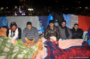 Syrian refugees await a chance for scarce affordable housing in Greece. (Photo and caption by Christian Aid Mission)