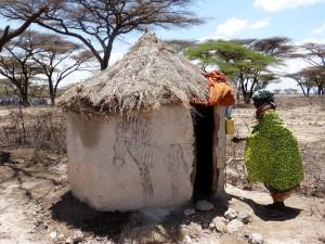 Kenya latrine  (Photo courtesy FH)