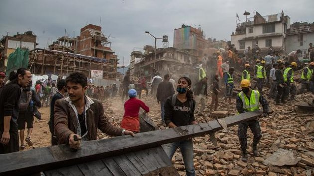 Ready to help in Nepal