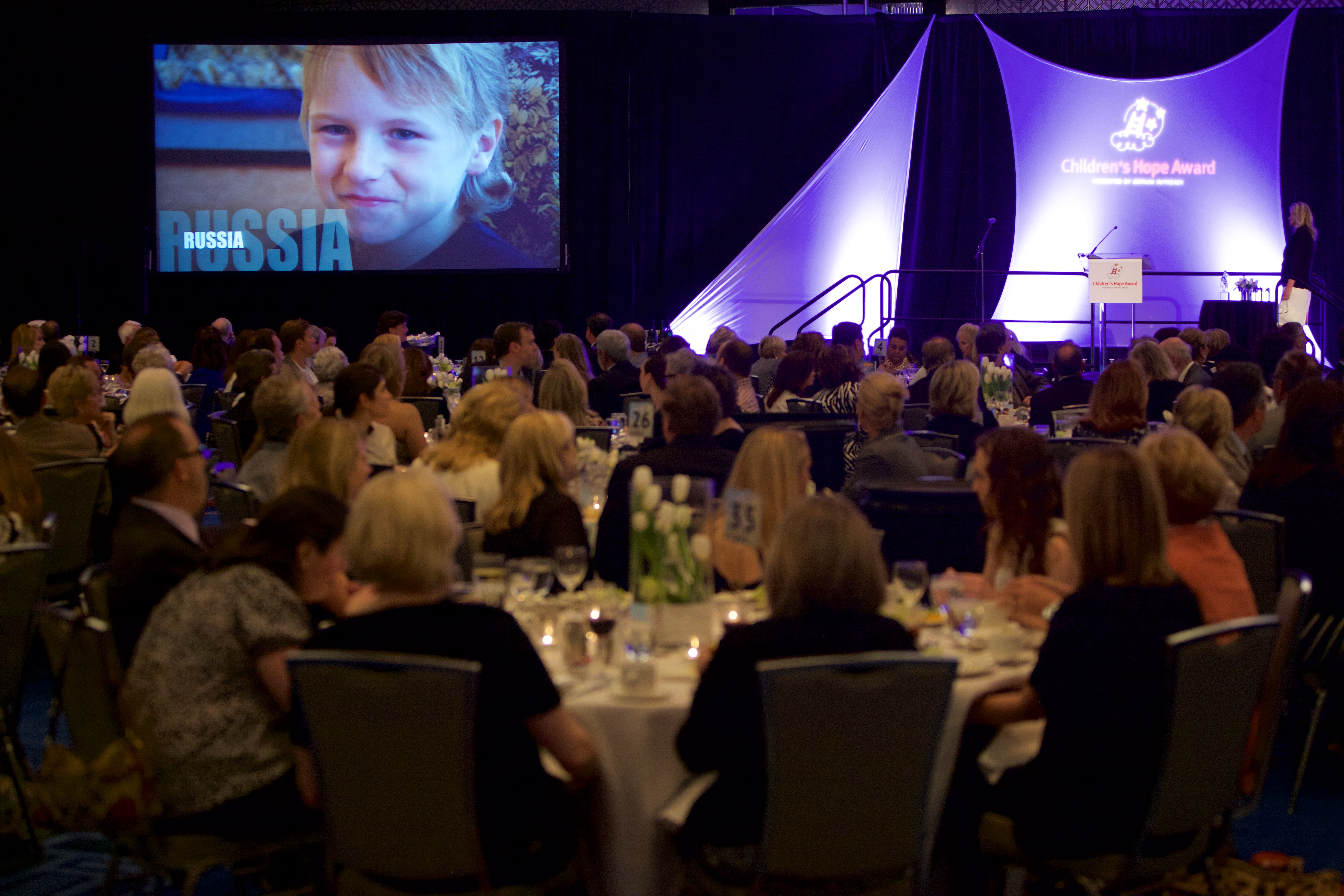 Orphans supported, advocates honored