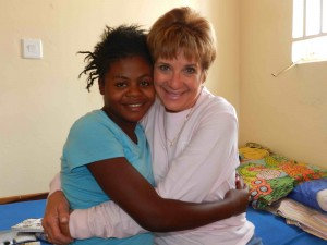 Cindy Brinker Simmons received the 2015 Children's Hope Award.  (Photo courtesy Orphan Outreach)