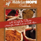 Women for Middle East Hope Cookbook (Photo by WFMEH