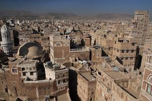 Sana'a: capital of Yemen. (Photo courtesy of IMB)
