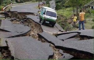 Photo courtesy Asian Access/Road damage, Nepal)