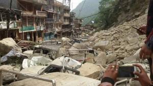 (Photo courtesy Asian Access/Damage, post-quake)