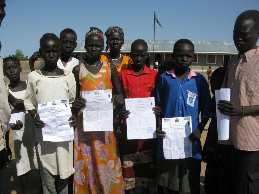 More than a building, a school brings hope in South Sudan