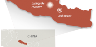 Nepal was hit with a 7.8 magnitude earthquake, many injured and dead.