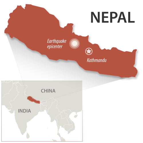 Nepal death toll climbs: Christians reaching out