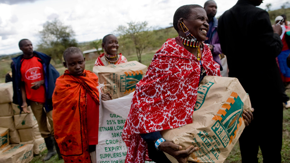 Easter celebration and hunger relief