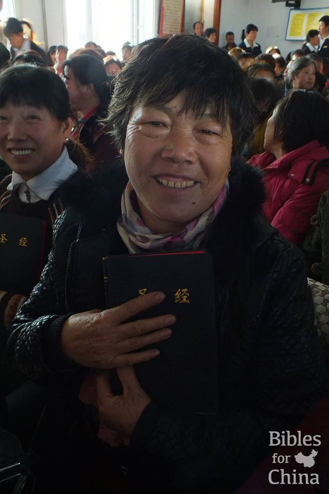 A different focus for Bible distribution in China