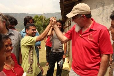 Forgotten Nepali village receives aid