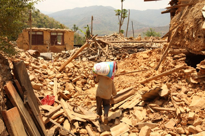 BGR_Nepal earthquake devastation